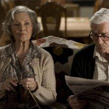 Marion Ross e Leslie Nielsen in una sequenza del film Superhero Movie