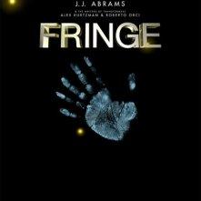 Locandina di Fringe con impronta della mano