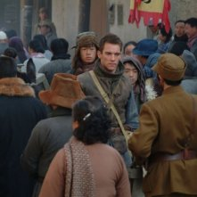 Jonathan Rhys Meyers in una scena di The Children of Huang Shi