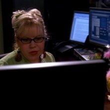 L'analista Penelope Garcia interpretata da Kirstin Vangsness, nell'episodio 'Unfinished Business' della serie tv Criminal Minds