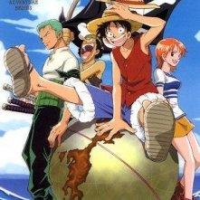 La locandina di All'arrembaggio! - One Piece