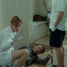 Michael Pitt e Tim Roth in una scena del film Funny Games