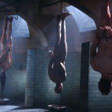 Una scena del film La setta delle tenebre