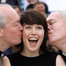Cannes 2008: Arta Dobroshi e i fratelli Jean-Pierre e Luc Dardenne presentano Le silence de Lorna
