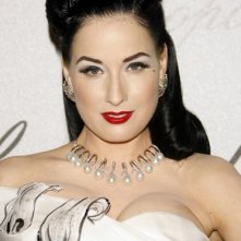 Cannes 2008: la regina del 'burlesque', Dita Von Teese