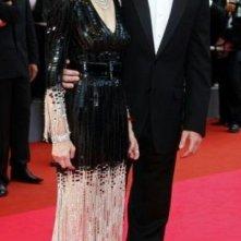 Cannes  2008: Madonna e suo marito Guy Ritchie. La popstar ha presentato il documentario I Am Because We Are del quale è produttrice