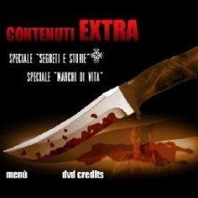 Il menù dei contenuti speciali del disco de La promessa dell'assassino