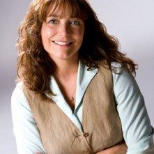 Karen Allen in una foto promozionale del film Indiana Jones e il regno del Teschio di cristallo