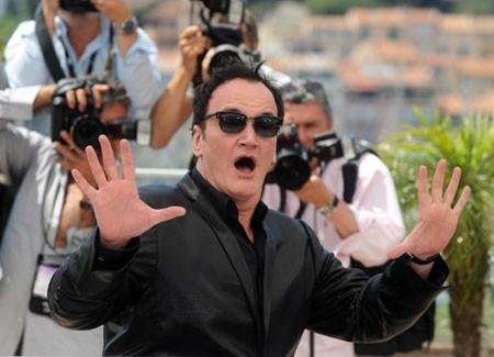 Cannes 2008: il regista Quentin Tarantino