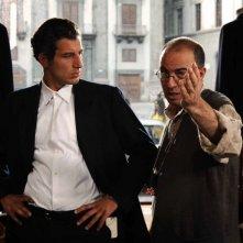 Il regista Giuseppe Tornatore sul set del film Baaria