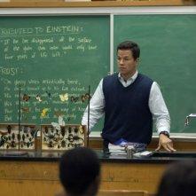 Mark Wahlberg in una scena del film E venne il giorno