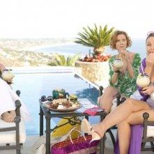 Sarah Jessica Parker, Cynthia Nixon e Kim Kattrall in una sequenza del film di Sex and the City
