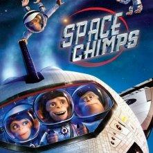 La locandina di Space Chimps