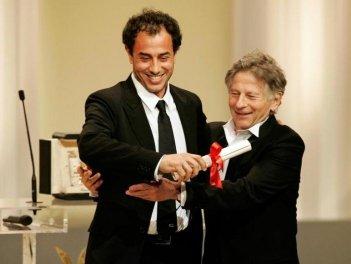 Cannes 2008: Matteo Garrone, autore di Gomorra, riceve il Gran Premio della giuria da Roman Polanski