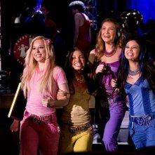 Skyler Shaye, Logan Browning, Nathalia Ramos e Janel Parrish in una scena di Bratz: The Movie