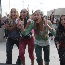 Skyler Shaye, Logan Browning, Nathalia Ramos e Janel Parrish in una scena del film Bratz: The Movie