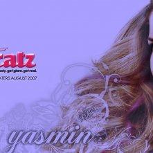 Wallpaper del film Bratz: The Movie con Nathalie Ramos, che interpreta Yasmin