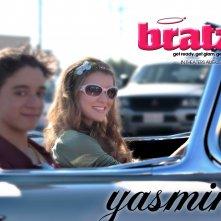 L'attrice Nathalia Ramos in un wallpaper del film Bratz: The Movie