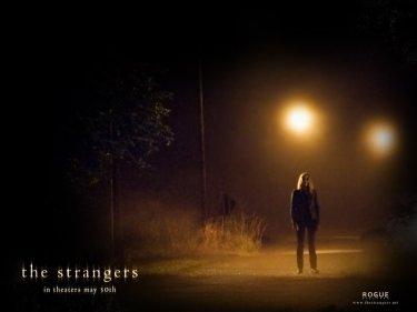 Un suggestivo wallpaper del film The Strangers