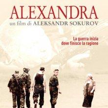 La locandina italiana di Alexandra