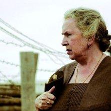 Galina Vishnevskaya in una sequenza del film Alexandra