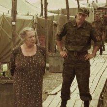 Galina Vishnevskaya in una scena del film Alexandra