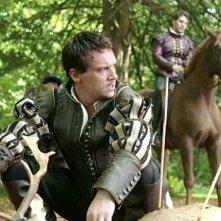 Jonathan Rhys Meyers in una scena di The Tudors