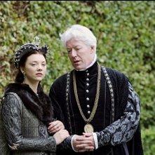 Nick Dunning e Natalie Dormer in una scena di The Tudors