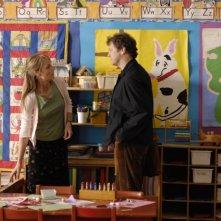 Helen Hunt con Colin Firth in una scena di Quando tutto cambia (2007)