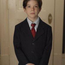Jacob Kogan sul set del film Joshua