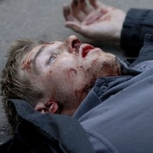 Mike Vogel in una scena del film The Deaths of Ian Stone