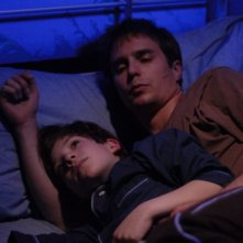 Sam Rockwell e Jacob Koganin una scena di Joshua