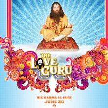 Un wallpaper del film The Love Guru con Mike Myers