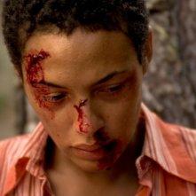 Judith Diakhate in una scena del film La notte dei girasoli