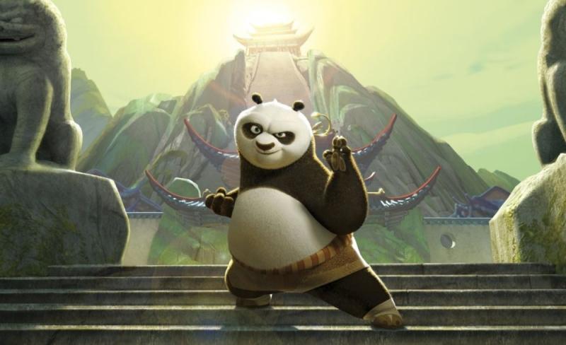 L Adorabile Panda Po In Un Immagine Del Nuovo Film D Animazione Della Dreamworks Kung Fu Panda 78766