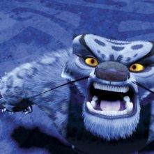 Un'immagine del film d'animazione Kung Fu Panda