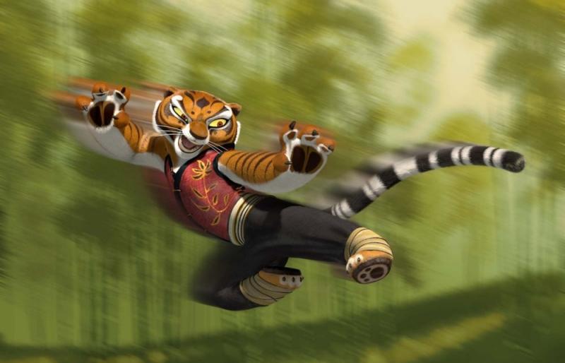 Un Immagine Della Tigre Tratta Dal Cartoon Kung Fu Panda 78765