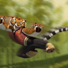 Un'immagine della tigre tratta dal cartoon Kung Fu Panda