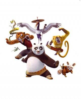 Un'immagine promozionale del film Kung Fu Panda