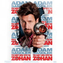Un wallpaper di Adam Sandler nel film Zohan