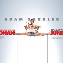 Un wallpaper di Adam Sandler dal film Zohan