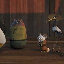 Una foto di gruppo per i protagonisti del cartoon prodotto dalla Dreamworks, Kung Fu Panda