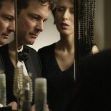 Colin Firth e Gina McKee in una scena del film And When Did You Last See Your Father? (2007)