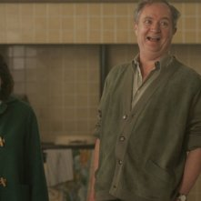 Elaine Cassidy e Jim Broadbent in una scena del film And When Did You Last See Your Father?