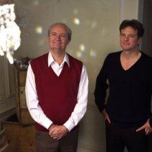 L'attore inglese Jim Broadbent e Colin Firth in una scena del film And When Did You Last See Your Father?