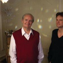 Jim Broadbent e Colin Firth in una scena del film And When Did You Last See Your Father?