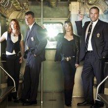 Una foto promozionale del cast di Law & Order: Criminal Intent