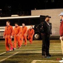Carl Weathers e David Koechner in una scena del film Il peggior allenatore del mondo