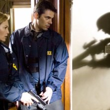 Nella rete del serial killer: Diane Lane e Billy Burke in una scena del film