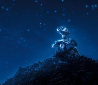 Una dolcissima espressione del protagonista di Wall-E